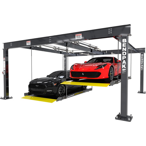 BendPak PL-6KDTX Extra Wide 6,000-lb. Cap. Parking Lift / Tandem / Independent Platforms / SPECIAL ORDER