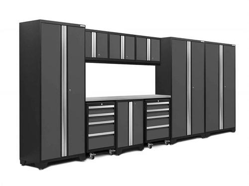 NewAge Bold 3.0 Grey 10 Piece Set w/Stainless Steel Worktop