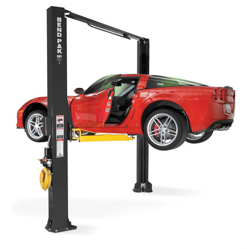 BendPak XPR-10AS-168-LP Extra Tall, Dual-Width, 10,000 Lb. Capacity, ALI Certified Two-Post Lift, Asymmetric, Low Profile Arms