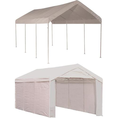 ShelterLogic MaxAP Canopy 2-in-1 Enclosure Kit 10 x 20 ft.