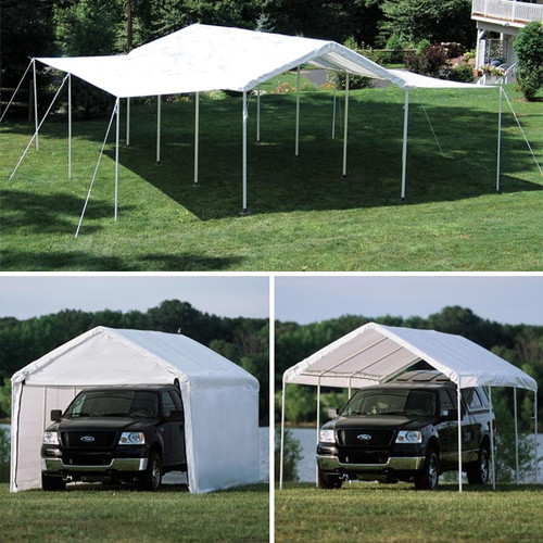 ShelterLogic MaxAP Canopy 3-in-1 with Enclosure Kit, 10 ft. x 20 ft.