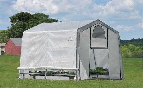 ShelterLogic GrowIT Greenhouse-in-a-Box 10' x 10' x 8' Peak Greenhouse