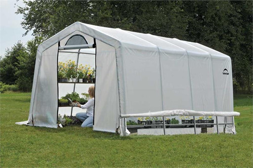 ShelterLogic GrowIT Greenhouse-in-a-Box Peak 10 x 20 ft. Greenhouse