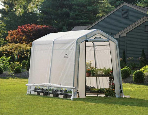 ShelterLogic GrowIT Greenhouse-in-a-Box 6 x 8 ft. Peak Greenhouse