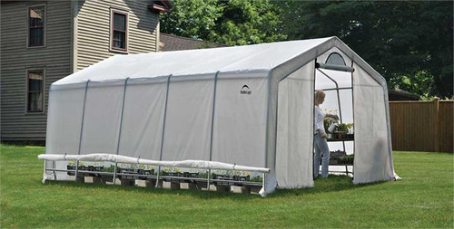 ShelterLogic Heavy Duty Greenhouse 12' x 20' x 8'