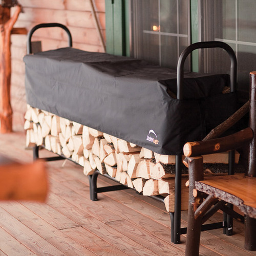 ShelterLogic Covered Firewood Rack - 8 ft.