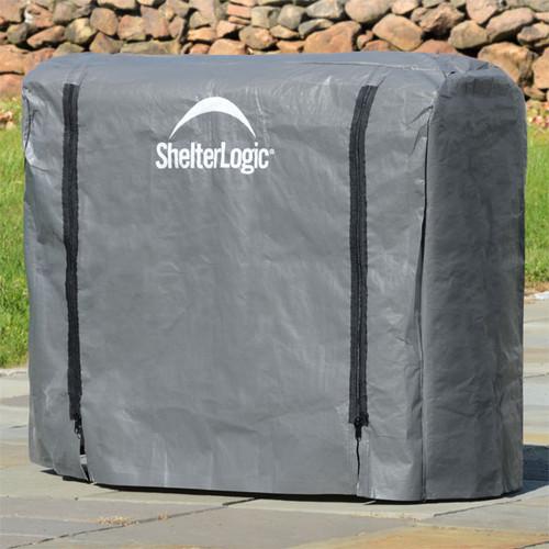 ShelterLogic Firewood Rack Cover, Full Length - 4ft