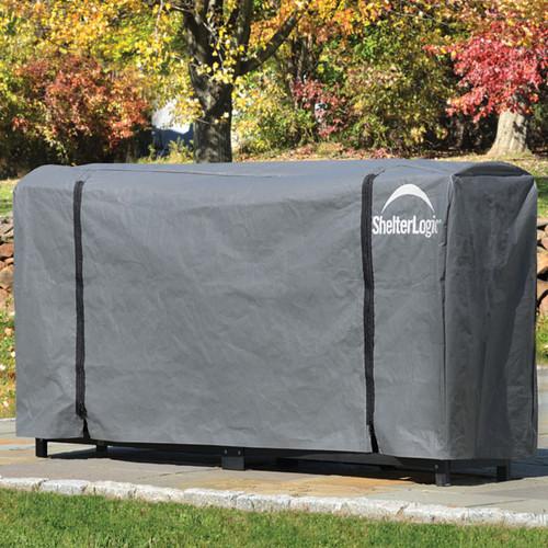 ShelterLogic Firewood Rack Cover, Full Length - 8ft