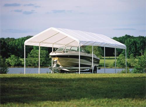 ShelterLogic SuperMax Canopy 12' x 26' - White
