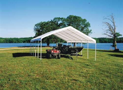 ShelterLogic SuperMax Canopy 18' x 30' - White