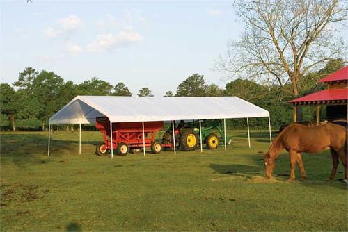 ShelterLogic SuperMax Canopy 18' x 40' - White