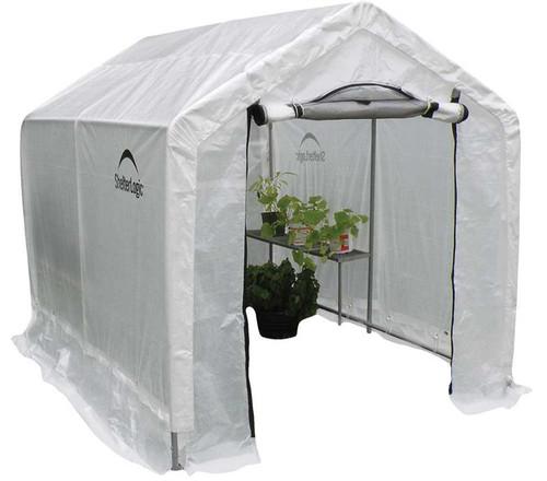 ShelterLogic GrowIT 6 x 8 ft. Backyard Greenhouse