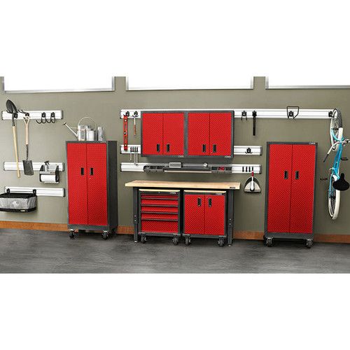 Gladiator Premier Welded Steel Red 17 Piece Set