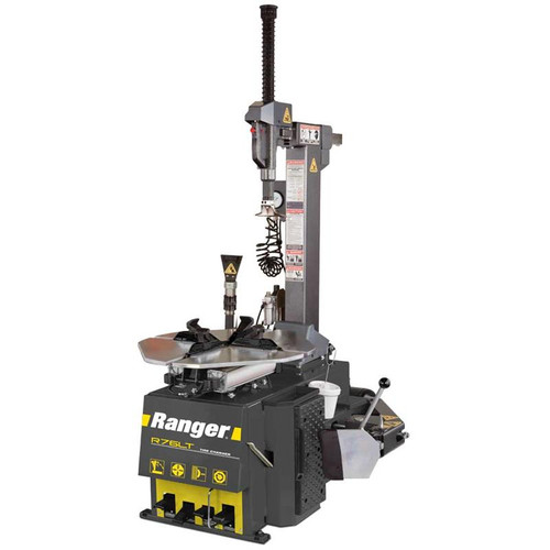 "Ranger R76LT Tilt-Back Tire Changer / 30"" Capacity - Yellow/Gray"
