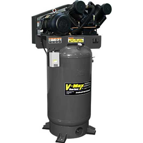 BendPak VMX-7580V-603 V-MAX Elite Air Compressor, 7.5 HP, 80Gallon Vertical Tank, 3 Phase