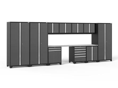 NewAge Pro Series 3.0 Grey 12 Piece Set w/Stainless Steel Worktop