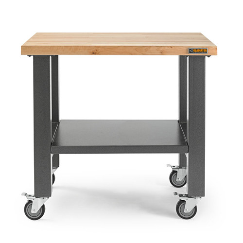 Gladiator 3' Hardwood Mobile Workstation