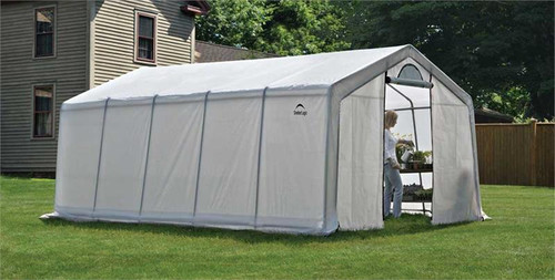 ShelterLogic GrowIT Greenhouse-in-a-Box Pro Peak 12 x 20 ft. Greenhouse