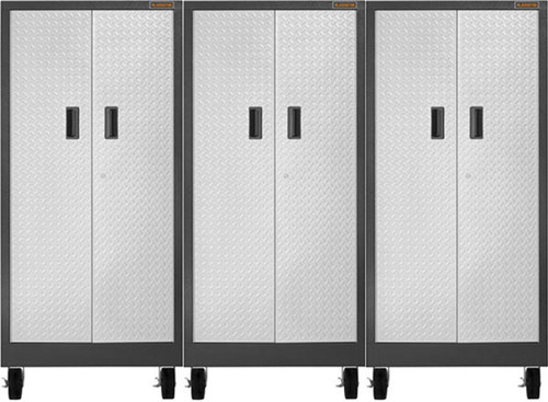 Gladiator Premier Welded Steel 3 Piece Tall Storage Set