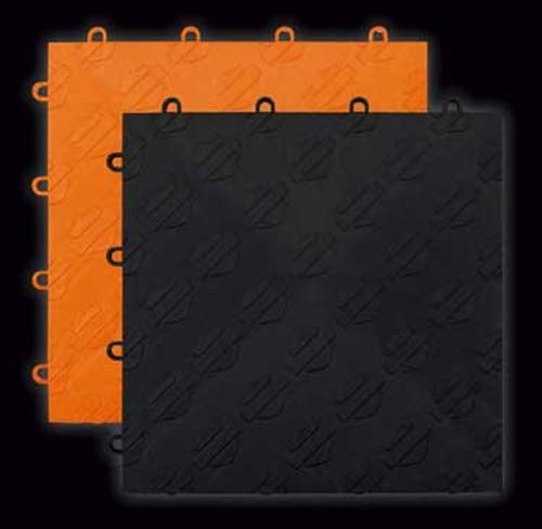 Harley Davidson Orange or Black Tile by RaceDeck