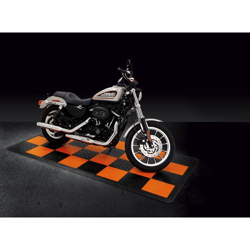 Harley Davidson 4' x 8' Floor Kit by RaceDeck