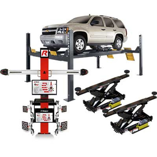 BendPak HDS-14LSXE Alignment Combo Kit