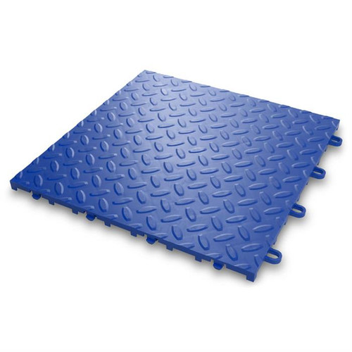 Gladiator Blue Floor Tile (24-Pack)