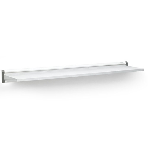 "Gladiator White 48"" Steel Shelf"