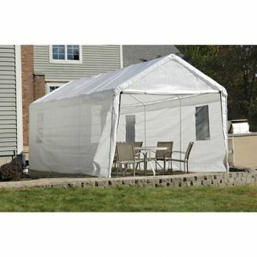 Shelter Logic 10x20 Canopy Window Enclosure Kit for 1-3/8 in. frame