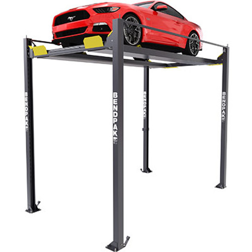 BendPak HD-7PXW 7,000-lb. Capacity ALI Certified / Super-Tall Rise / Four-Post Lift / Vehicle Display Platform