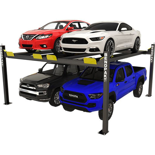 "BendPak HD-9SWX 9,000-lb. Capacity Super Wide 82"" Rise Car Stacker Parking Lift"