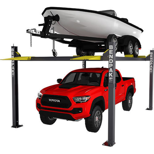 "BendPak HD-7500BLX 7,500-lb. Capacity / Vehicle and Boat Storage Lift / 82"" Rise"