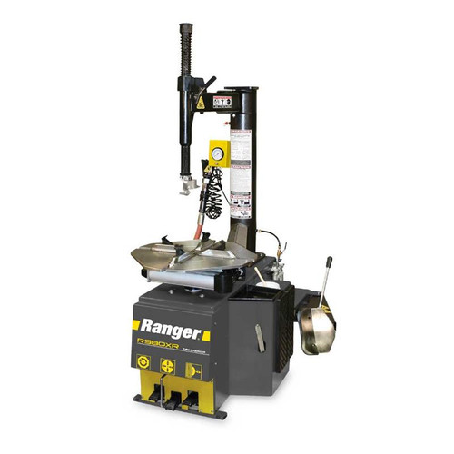 "Ranger R980XR Tire Changer / Swing Arm / 30"" Capacity - Yellow/Gray"