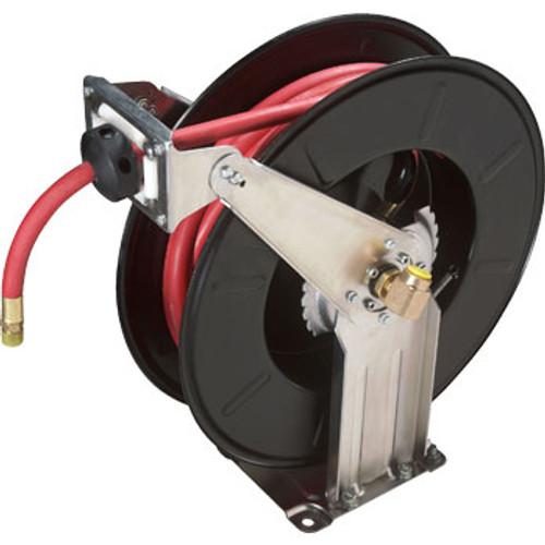 Ranger RH-50PL Dual Support, Spring Rewind Hose Reel and 50 / 300 psi Hose