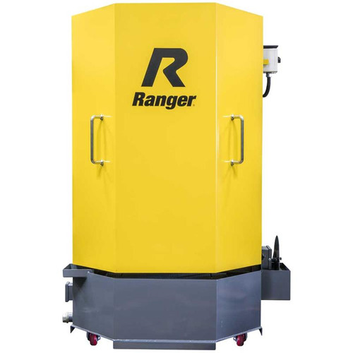 Ranger RS-500D Professional Spray Wash Cabinet With Skimmer, Dual-Heaters, Low-Water Shutoff, 208-230V, 1-Phase, 60hz