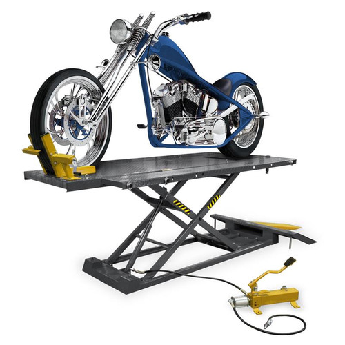 Ranger RML-1500XL Motorcycle Lift Platform With Front Wheel Vise / Deluxe Extended