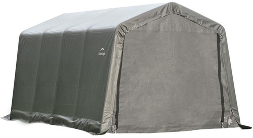 ShelterLogic ShelterCoat 8 x 16 x 8 ft. Garage Peak Gray Cover