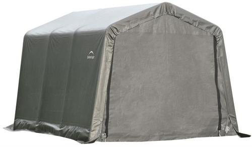ShelterLogic ShelterCoat 8 x 12 x 8 ft. Garage Peak Gray Cover
