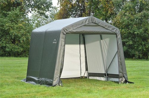 ShelterLogic ShelterCoat 8 x 8 x 8 ft. Garage Peak Gray Cover