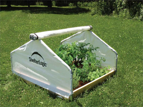 ShelterLogic GrowIT BackYard Raised Bed 4 x 4 ft. Greenhouse