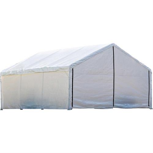 ShelterLogic 18x40 Canopy Enclosure Kit FR Rated White