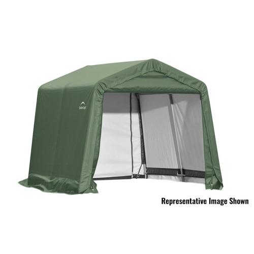 ShelterLogic ShelterCoat 10 x 12 x 8 ft. Garage Peak Green Cover