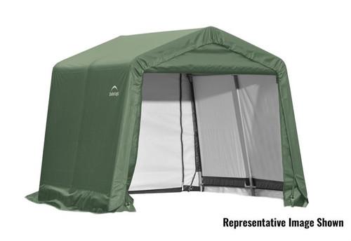 ShelterLogic ShelterCoat 10 x 16 x 8 ft. Garage Peak Green