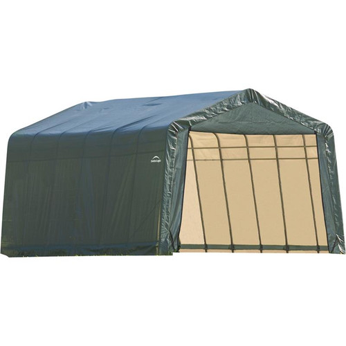ShelterLogic ShelterCoat 13 x 24 x 10 ft. Garage Peak Green Cover