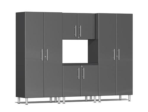 Ulti-MATE Garage 2.0 Series Grey Metallic 4-Piece Kit