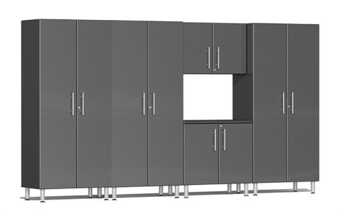 Ulti-MATE Garage 2.0 Series Grey Metallic 5-Piece Combo Kit