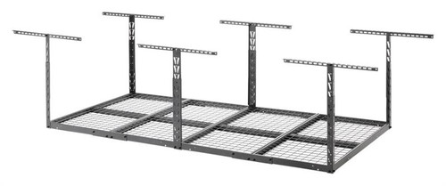 Gladiator Overhead GearLoft Storage Rack 4' X 8' - Hammered Granite