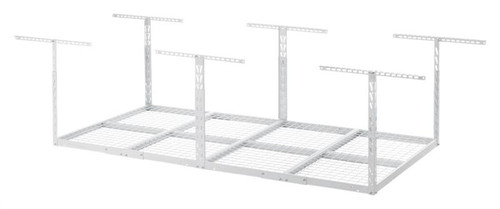 Gladiator Overhead GearLoft Storage Rack 4' X 8' - White