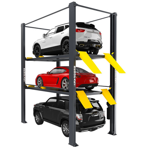 BendPak HD-973PX 9,000 and 7,000 Lb. Capacity / Tri-Level Parking Lift / Extended / High Lift / SPECIAL ORDER