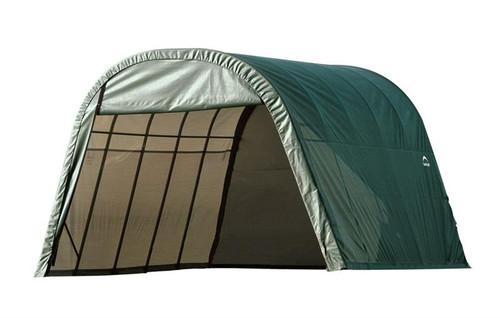 ShelterLogic ShelterCoat 13 x 20 x 10 ft. Wind/Snow Rated Garage Round Green